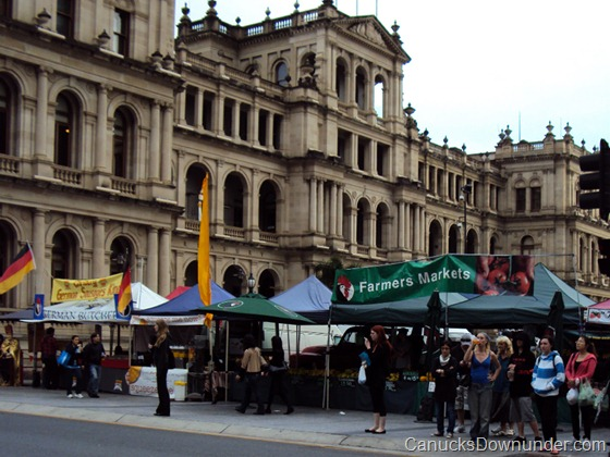 Farmers Markets in Brisbane City