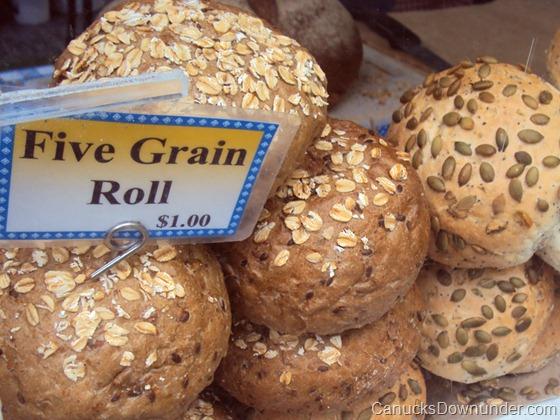 Five grain rolls