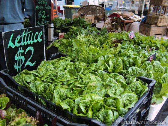 Lettuce for $2
