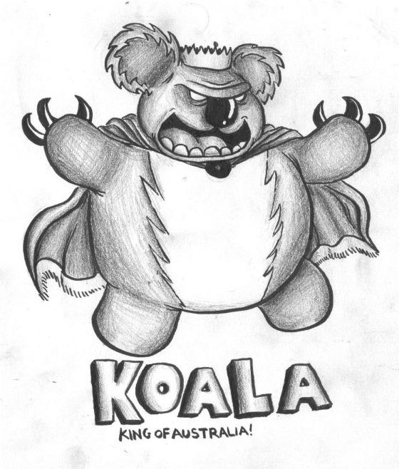koala king of australia
